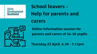 School leavers - Help for parents and carers